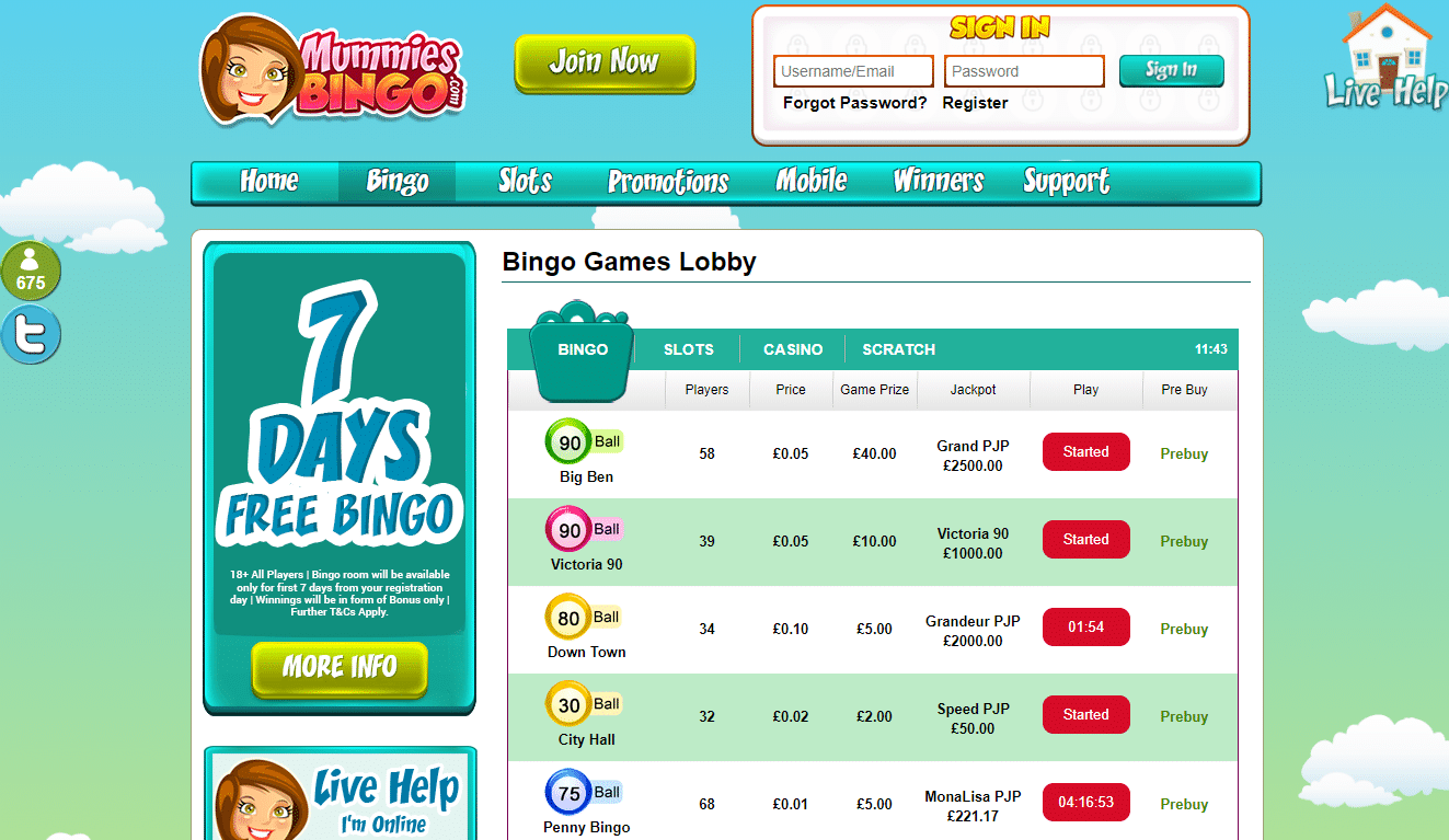 Mummies bingo review you have a 20 bonus 20 free spins mummies bingo solutioingenieria Images
